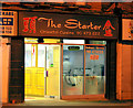 "J3773 : ""The Starter"", Ballyhackamore, Belfast by Albert Bridge"