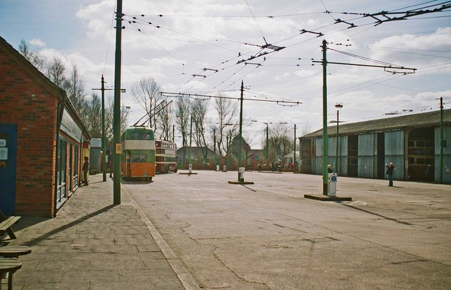 The Trolleybus Museum at Sandtoft - the  main area, near Sandtoft, Lincs