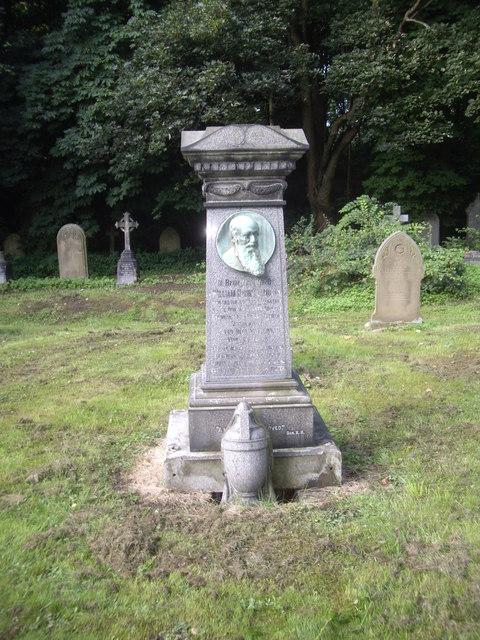 A memorial headstone in St Cuthbert's churchyard