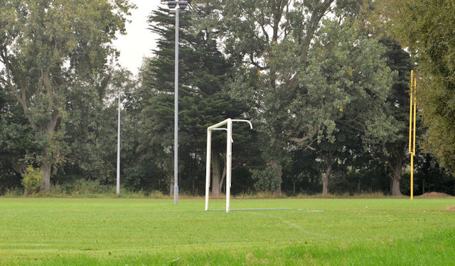 Goalposts, Aircraft Park, Belfast (1)
