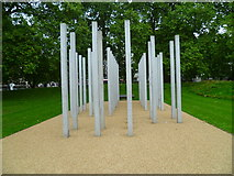 TQ2880 : Memorial in Hyde Park by Shazz
