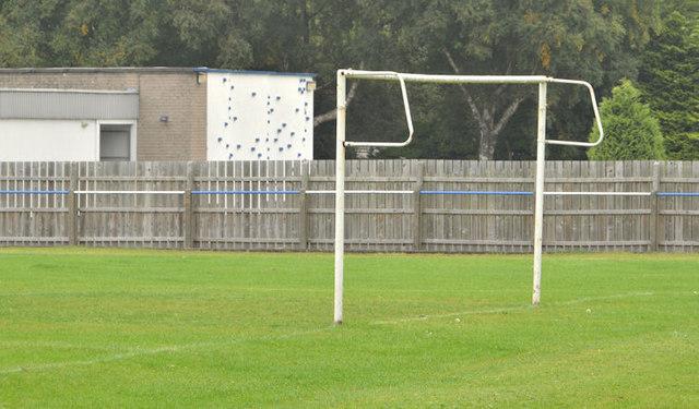 Goalposts, Aircraft Park, Belfast (2)