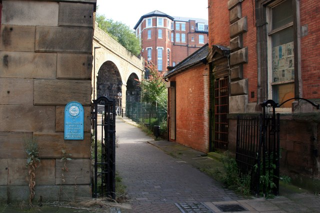 Entry to the Five Weirs Walk