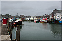 SY6778 : Weymouth harbour by Ian Greig