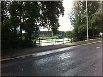 H2343 : Footbridge off Wellington Road by Darrin Antrobus