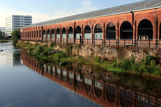 Albion Works reflection