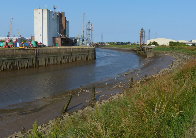 The River Witham at the Port of Boston