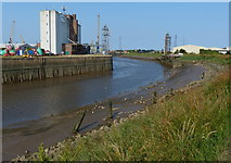 TF3242 : The River Witham at the Port of Boston by Mat Fascione