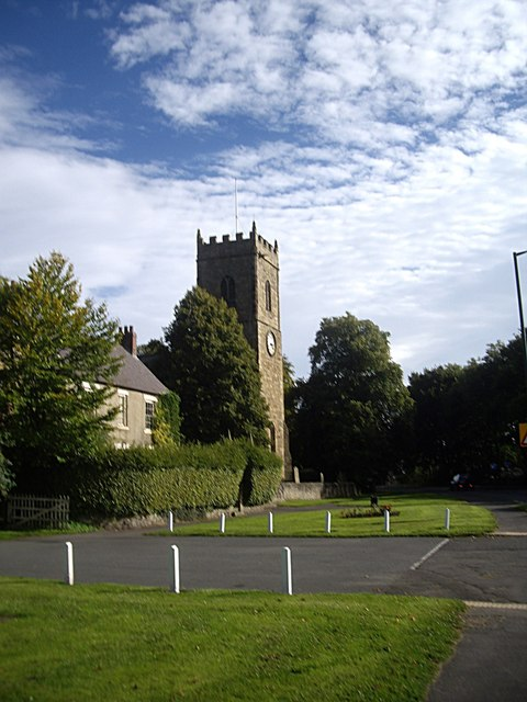 Old Manse and Parish Church, Lanchester