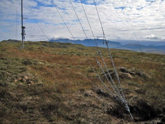 Hilltop mast