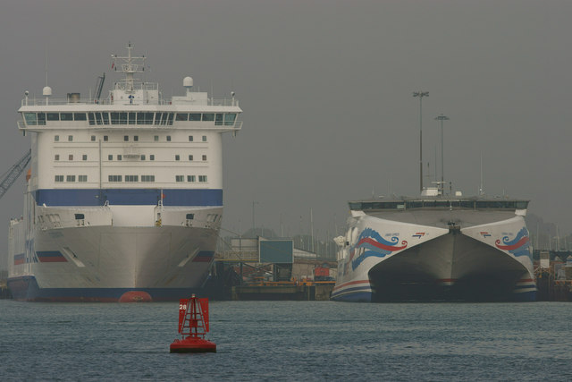 Ferries in Poole Harbour