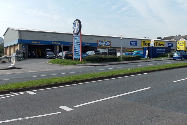 Kwit Fit And Topps Tiles Swansea