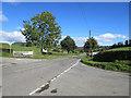 SJ2430 : B4058 enters Shropshire by Stuart Logan