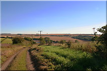 SE9238 : Oh no, not another wind turbine: Wrangmandale Wold by Chris