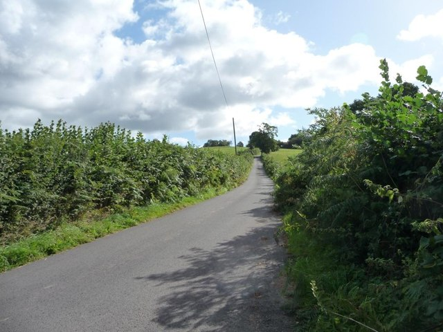 The road to Croes Llywarth