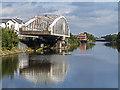 SJ6086 : Chester Road Swing Bridge by William Starkey