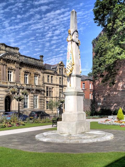 Gallipoli Gardens, The Lancashire Fusiliers War Memorial
