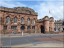 NY4055 : East Tower, Carlisle Citadel by Oliver Dixon