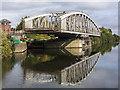 SJ6186 : London Road Swing Bridge by William Starkey