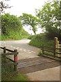 SS8528 : Badlake Moor Cross by Derek Harper