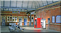 TL3212 : Hertford East station concourse by Ben Brooksbank