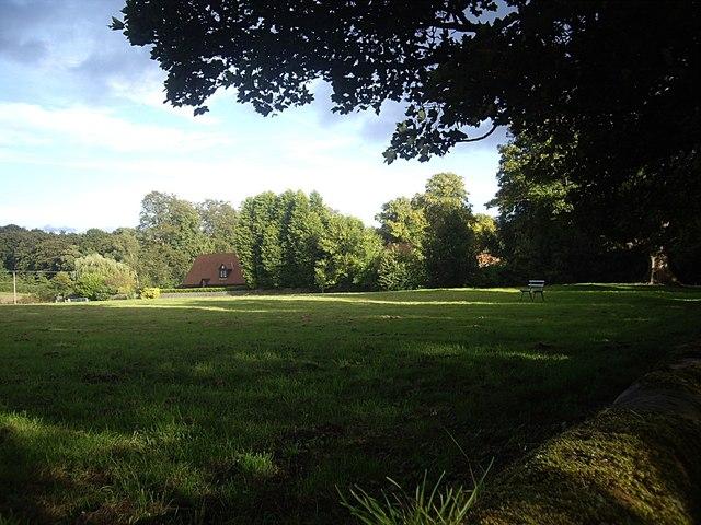 A recreation area, Brancepeth