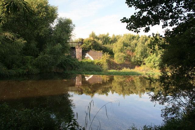 Above Sanderson's Weir