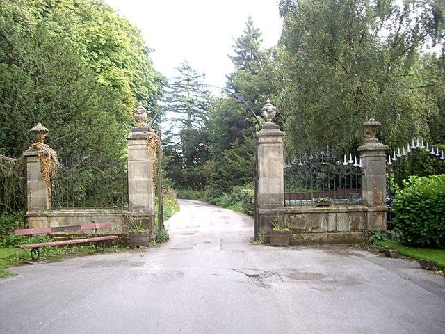 Gateway to Brancepeth Castle
