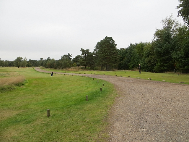 Ladybank Golf Course C Richard Webb Cc By Sa 2 0 Geograph Britain