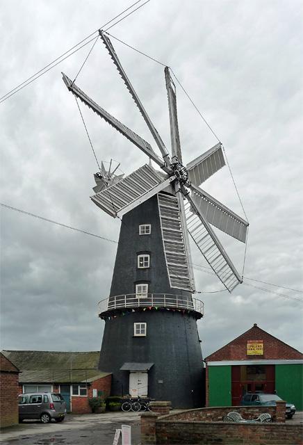Tower mill, Heckington