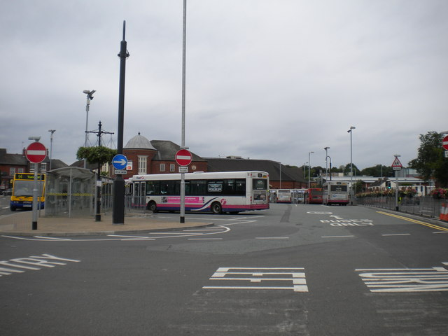 Newcastle under Lyme bus station