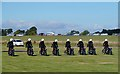 NT5578 : The White Helmets Display Team at East Fortune by Walter Baxter