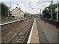 NS3252 : Glengarnock railway station, Ayrshire by Nigel Thompson