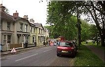 SX9164 : Roadworks, Lymington Road, Torquay by Derek Harper