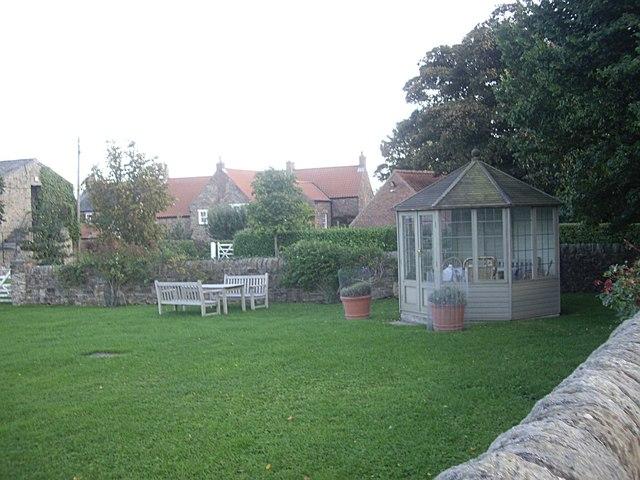 Gazebo at Holywell House