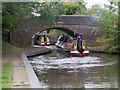 SP1995 : Birmingham and Fazeley Canal: Double Bridge by David P Howard