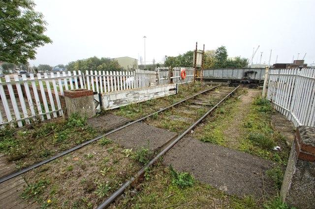 Former Great Northern Railway Dock Branchline, Boston