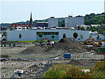 NS3174 : Former Kingston and Glen shipyards site by Thomas Nugent