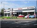 TQ7912 : Vauxhall Dealership, St Leonards by Peregrine