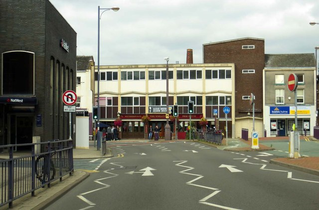 London Road in Stoke-Upon-Trent