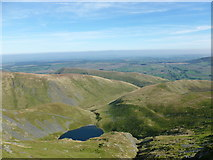 NY3228 : Looking down on Scales Tarn by Alan O'Dowd