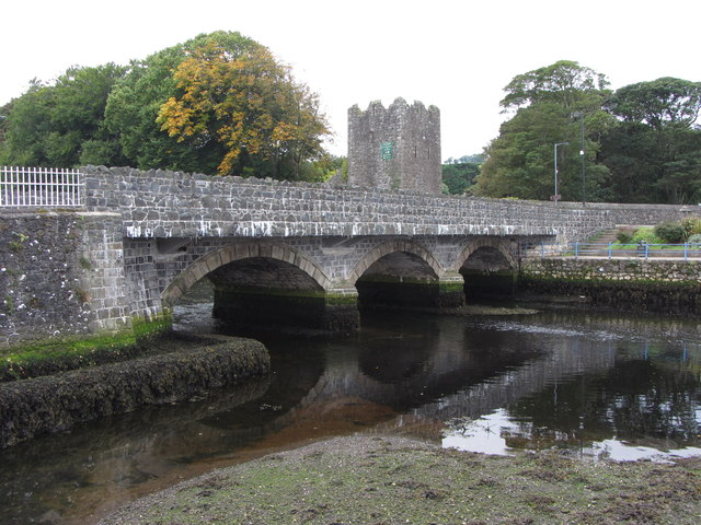 Bridge across the Glenarm River, Glenarm