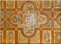 NT2573 : Painted Ceiling, Riddle's Court (2) by Anne Burgess