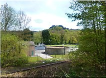 SK3155 : Lea Wood Sewage Works by Des Blenkinsopp