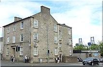 NS2776 : Villas on Patrick Street and Brougham Street Corner, Greenock by Terry Robinson