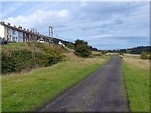 SO1506 : Former railway track, Bedwellty Pits by Robin Drayton
