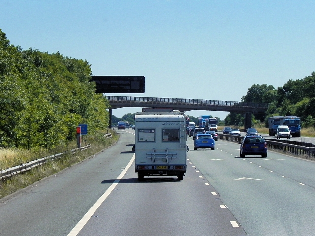 Bridge (B4112) Over the M6