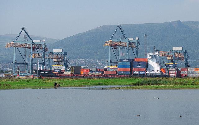 The 'Conmar Elbe' at Belfast