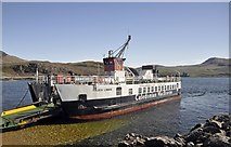 NM4962 : Calmac Ferry, Kilchoan by Stuart Wilding