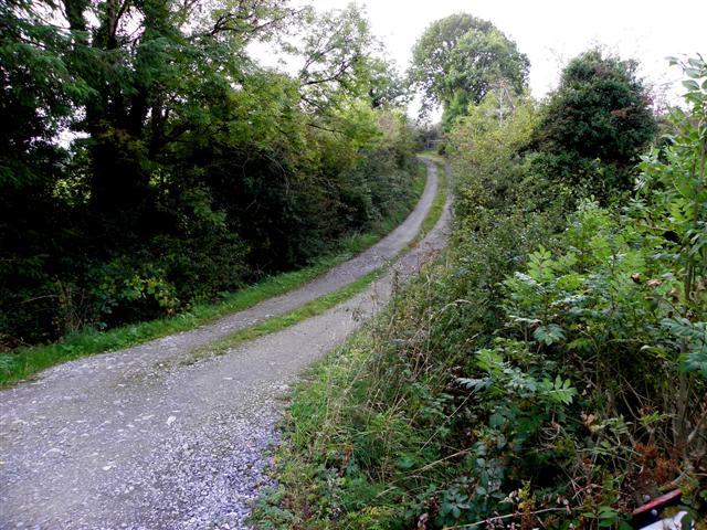 Minor road at Cornageeragh